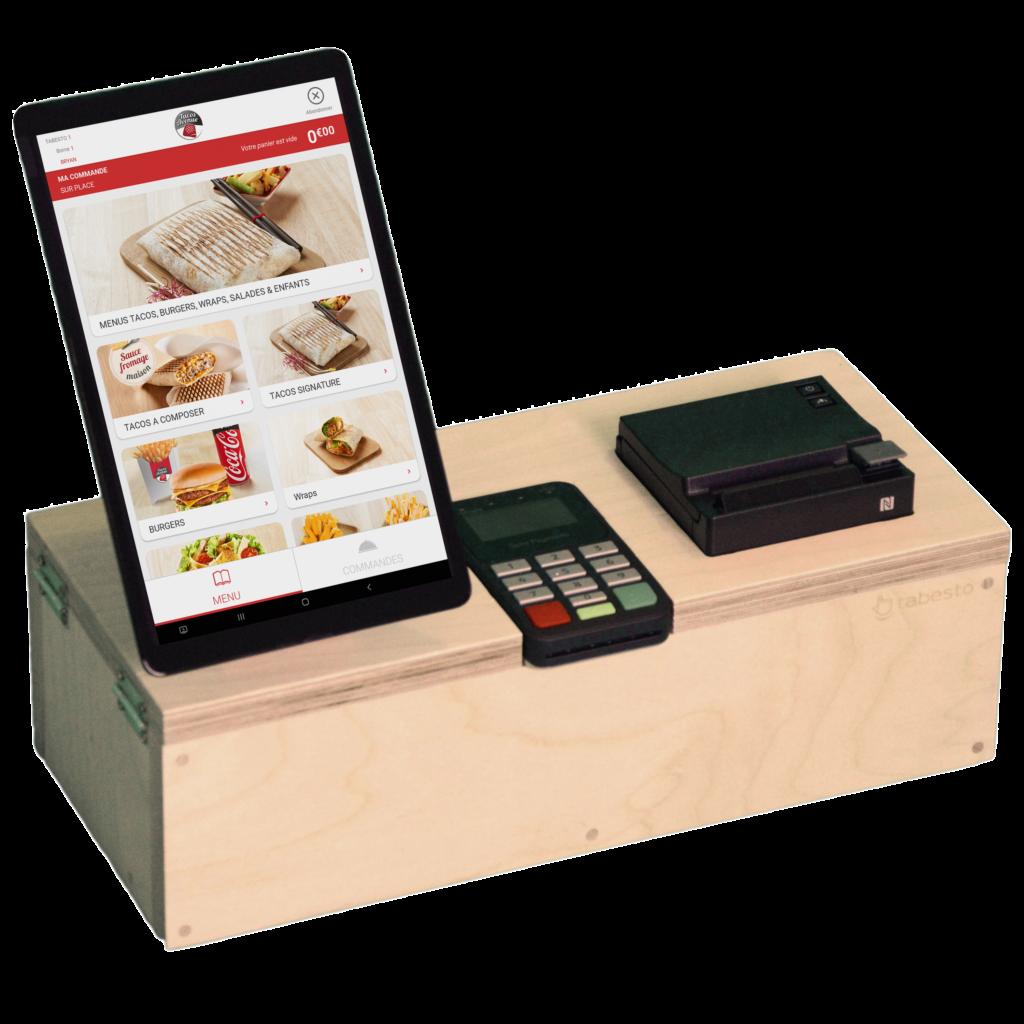 Borne de commande fast-Food 10 pouces Kyoto de la marque Tabesto